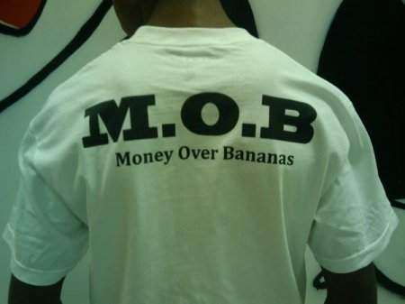 MONEY OVER BANANAS